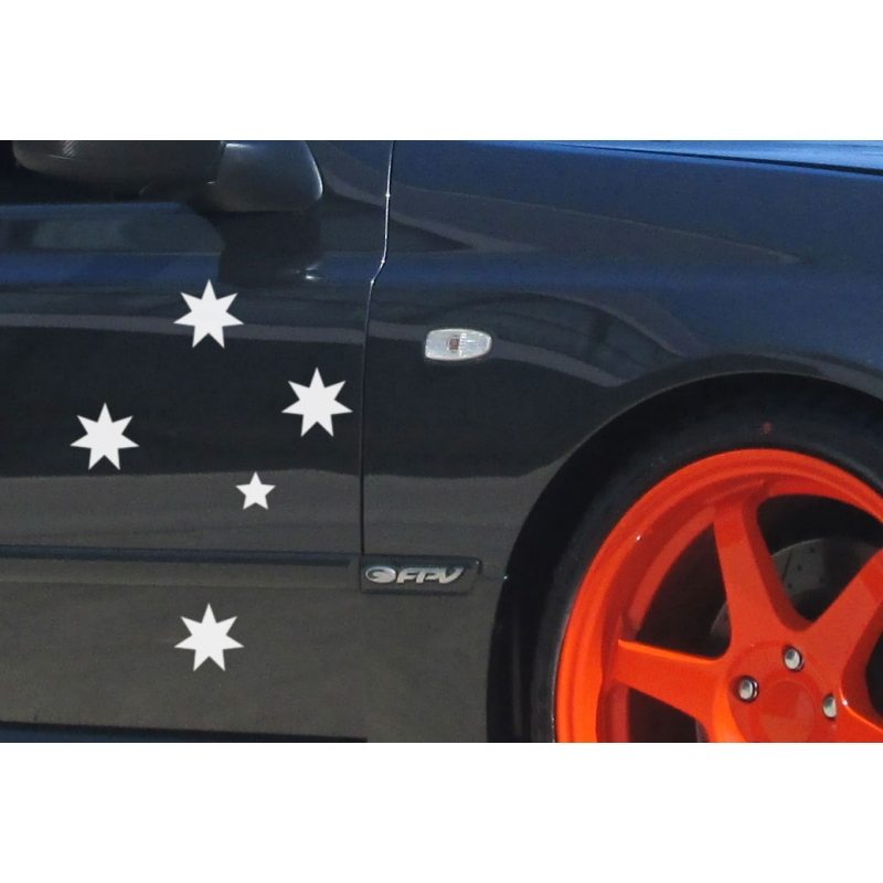 SOUTHERN CROSS STARS CAR BOAT TATTOO VINYL DECAL AUSSIE AUSTRALIA - Decals for boats australia
