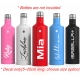 Personalised Drink Bottle Name Sticker Custom Sports Goods Decal