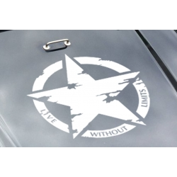 Army Military Star Live Without Limits Car Bonnet Bike Wall Door Decals Sticker