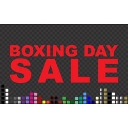 Boxing Day SALE RETAIL SHOP WALL WINDOW SIGN VINYL STICKER DECAL
