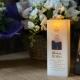 Custom Photo RIP flameless flickering LED Wax Candle
