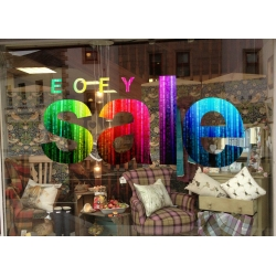 EOFY SALE retail SHOP Sticker Decal Wall Window Sign Removable