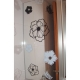BIG FLOWERS BLOOM WALL DECAL VINYL STICKER