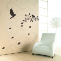 BIRD TREE WALL DECAL VINYL STICKER