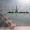 PARIS EIFFEL TOWER WALL DECAL VINYL STICKER