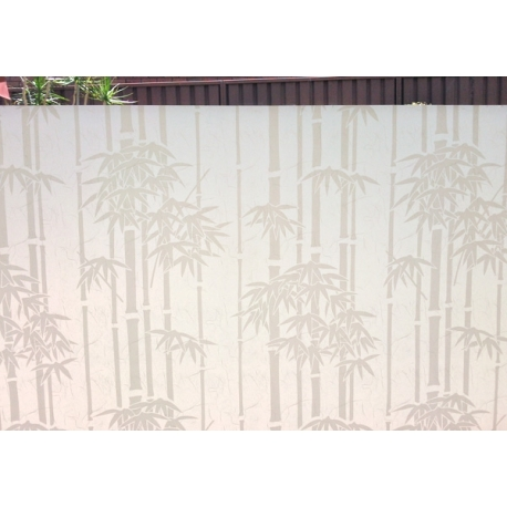 BAMBOO WHITE RICE FROSTED WINDOW PRIVACY FILM 92CM/M