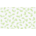 1M x 90cm GREEN LEAVES WINDOW FROSTED FILM THICK 24HRS PRIVACY