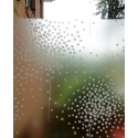 1M x 1.3M WHITE CLEAR BLOOM TREE FROSTED WINDOW PRIVACY FILM