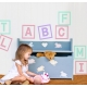 CUSTOMIZED WALL VINYL NAME DECAL ONE BOX LETTER DIGIT 25CM HIGH