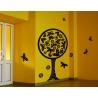 BUTTERFLY TREE WALL DECAL TATTOO VINYL STICKER