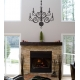 CHANDELIER WALL DECAL VINYL STICKER