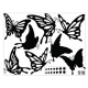 BUTTERFLIES WALL DECAL VINYL STICKER