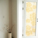 1M/M YELLOW ROSE FROSTED WINDOW FILM PRIVACY GLASS