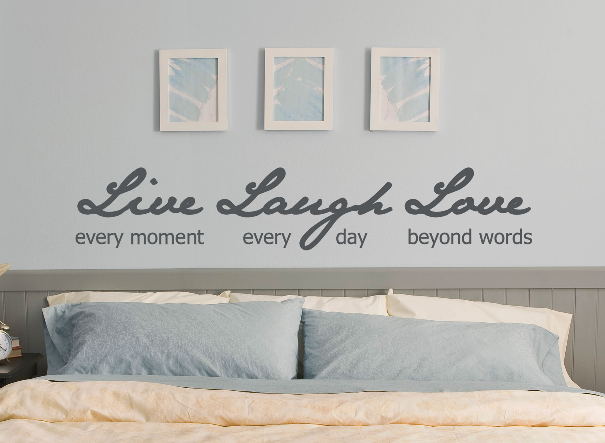 Live every moment laugh every day love quote wall decal vinyl live every moment laugh every day love quote wall decal vinyl sticker ozdeco ts polonaiz amipublicfo Choice Image