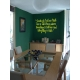 SOMEBODY TOLD ME THAT BETTER AND SAFE PLACE QUOTE WALL VINYL DECAL