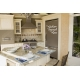 THIS KITCHEN IS SEASONED WITH LOVE WALL VINYL DECAL LETTERING