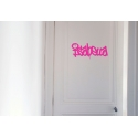 GRAFFITI PERSONALISED NAME WALL DOOR CUSTOM VINYL DECALS STICKER TEEN KIDS