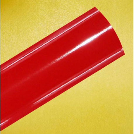 61CM /M SOLID RED HIGH GLOSS INTERIOR FILM 300 MICRON THICK