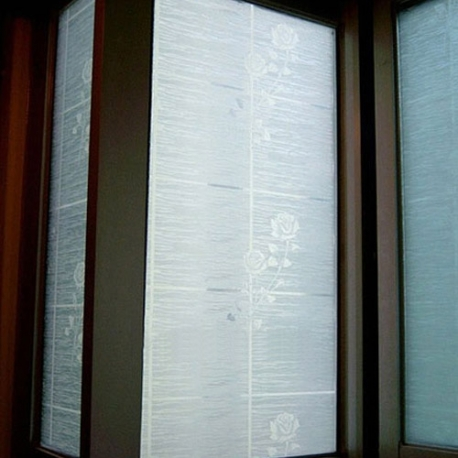 90m m etched rose clear frosted window film privacy glass