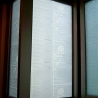 90M/M ETCHED ROSE CLEAR FROSTED WINDOW FILM PRIVACY GLASS