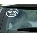 BABY INSIDE KIDS SAFETY FUNNY INTEL INSPIRED LOGO CAR TATTOO VINYL DECAL STICKER