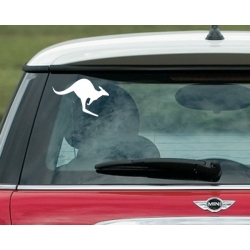KANGAROO AUSTRALIAN SYMBOL CAR BOAT TATTOO LOGO VINYL DECAL
