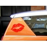 SEXY LUSCIOUS EROTIC LIPS CAR BOAT LAPTOP TATTOO VINYL DECAL STICKER