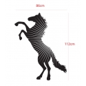 REARING HORSE IN THE MORNING SUNLIGHT REMOVABLE FEATURE WALL DECAL VINYL STICKER
