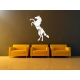 HORSE IN THE MORNING SUNLIGHT REMOVABLE FEATURE WALL DECAL VINYL STICKER