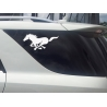 GALLOPING HORSE IN THE FOREST CAR BOAT LAPTOP TATTOO VINYL DECAL STICKER