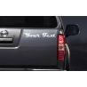 CUSTOM CAR ADVERT AD PERSONALISED VINYL DECAL LETTERING BUMPER STICKER 30CM WIDE