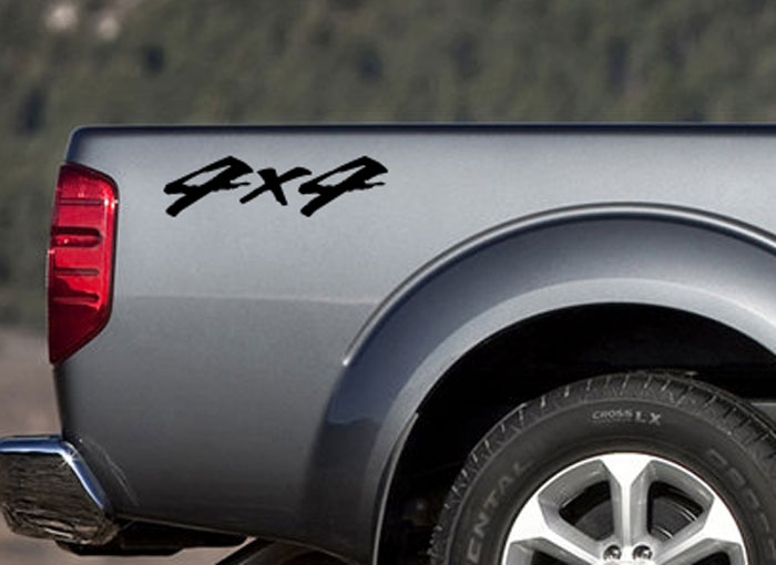 Two 4x4 truck ute decals stickers nissan toyota chevy gmc dodge ford off road ozdeco t s polonaiz