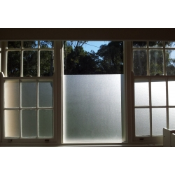50CM/90CM STATIC CLING PLAIN REUSABLE FROSTED WINDOW FILM PRIVACY