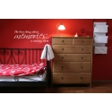 THE BEST THING ABOUT MEMORIES IS MAKING THEM WALL VINYL DECAL STICKER