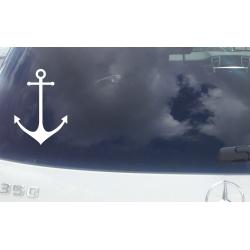 ANCHOR MODERN CAR BOAT Sticker Vinyl Decal