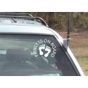 PRINCESS PRINCE BABY ON BOARD SIGN CAR DECAL VINYL STICKER