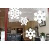1 Snowflake XMAS decor Removable Art Vinyl wall window glass shop sticker decal