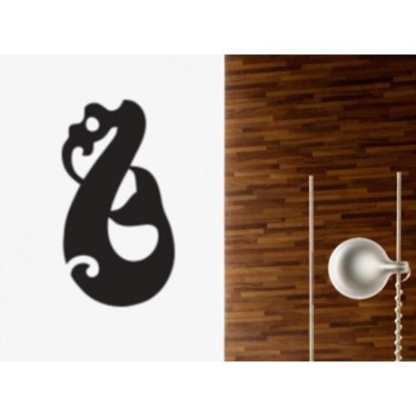 Maori Manaia Spiritual Guardian NZ Symbol Wall Tattoo Art Decal Vinyl Sticker