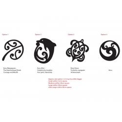 Maori Koru Mangopare Honu Aihe NZ Kiwi Symbol car Tattoo Decal Vinyl Sticker