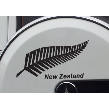 SILVER FERN TREE NEW ZEALAND KIWI SYMBOL VINYL DECAL CAR BOAT TATTOO