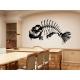 Fish Skeleton Modern Art Wall Tattoo Feature Wall Decal Vinyl Sticker