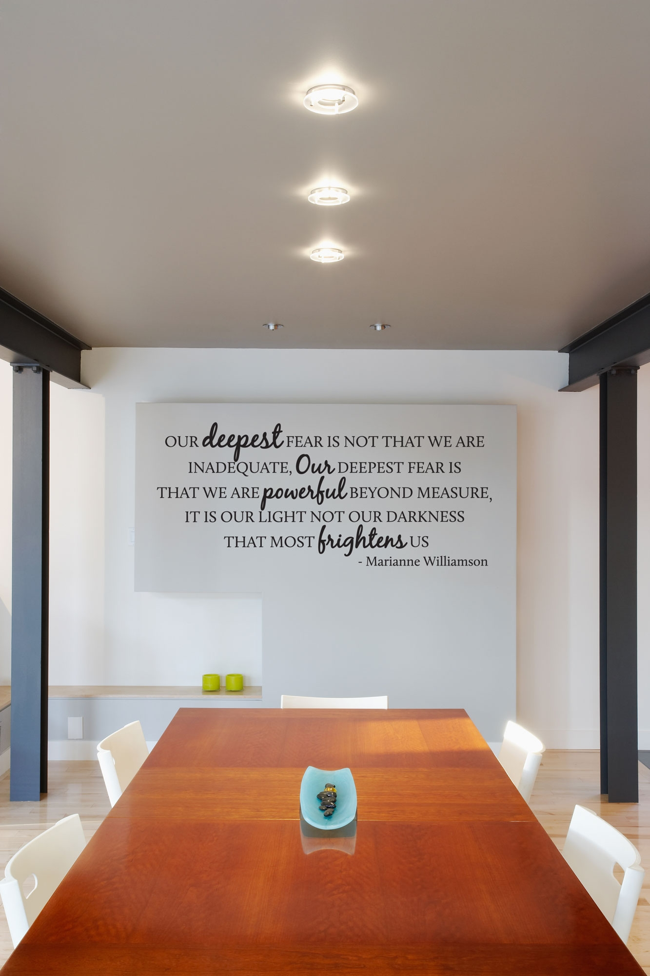 OUR DEEPEST FEAR IS NOT THAT WE ARE INADEQUATE INSPIRATIONAL QUOTE VINYL DECAL - OZDECO T/S Polonaiz & OUR DEEPEST FEAR IS NOT THAT WE ARE INADEQUATE INSPIRATIONAL QUOTE ...