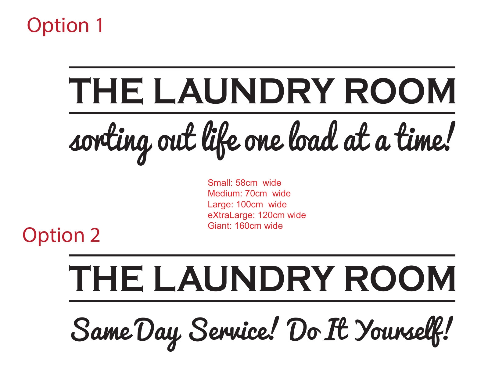 The laundry room sorting out life same day service do it yourself the laundry room sorting out life same day service do it yourself funny vinyl sign decal sticker ozdeco ts polonaiz solutioingenieria Images
