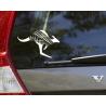 NZ Aussie Kangaroo Silver Fern Sign Car Boat UTE Truck Decal Vinyl Sticker