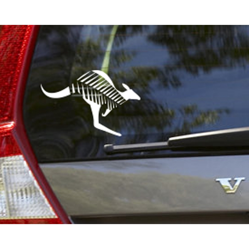 Nz aussie kangaroo silver fern sign car boat ute truck decal vinyl sticker
