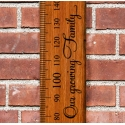 """""""Our Growing Family"""" Growth Chart Ruler Add-On Vinyl Decal Sticker for Side"""