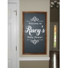 Personalized Baby Shower Birthday Anniversary Welcome Sign Decor Decal Sticker