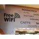 Free Wi-Fi Wifi Sign Wall Window Vinyl Sticker Decal Shop Cafe Pub Restaurant