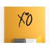 XO Love Kiss Hug Removable Wall Art The Weeknd Hip Hop Decal Vinyl Sticker