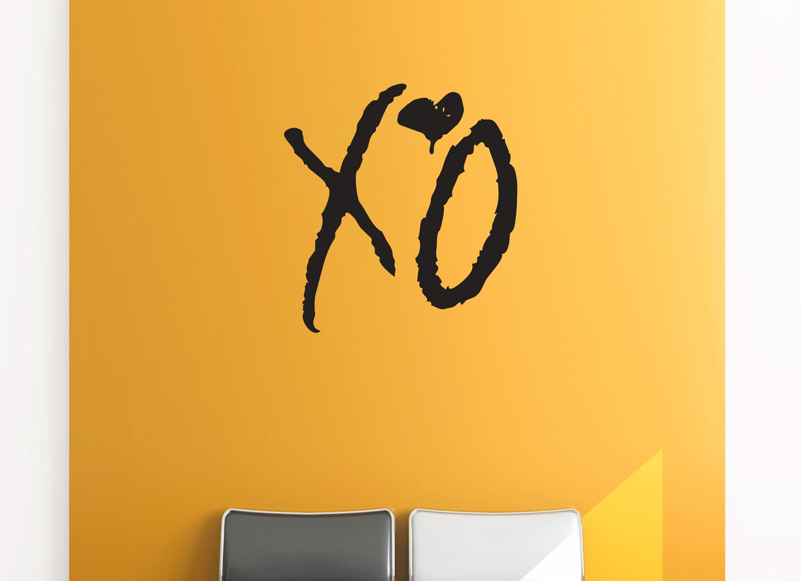 Xo love kiss hug removable wall art the weeknd hip hop decal vinyl sticker ozdeco t s polonaiz